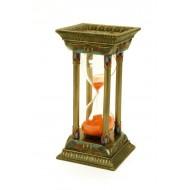 Columna reloj arena.