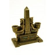 Obelisco Faraones con Portavelas.