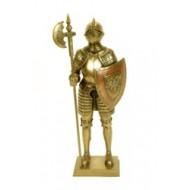 Caballero con lanza y escudo.