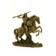 Apache a caballo.