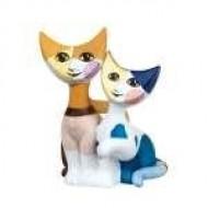 Andrea e Piero mini gato.