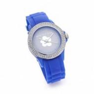 Agatha reloj brillantes azul oscuro.