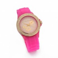 Agatha reloj brillantes rosa.