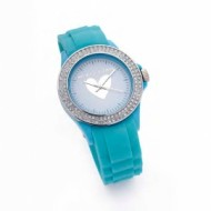 Agatha reloj brillantes azul.