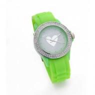 Agatha reloj brillantes verde pistacho.