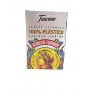 Baraja española 100% plástico.