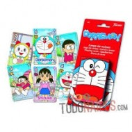 Baraja infantil Doraemon.